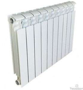 Радиатор алюминиевый Gekon Al 500 10