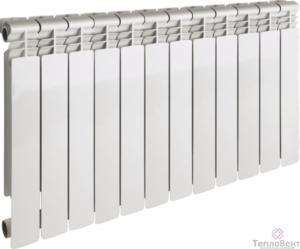 Радиатор алюминиевый Gekon Al 500 12