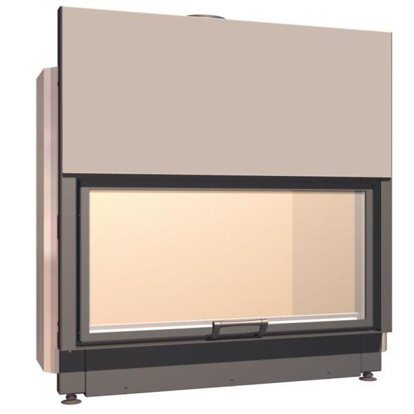 Топка с прямым стеклом Schmid Lina 100 h