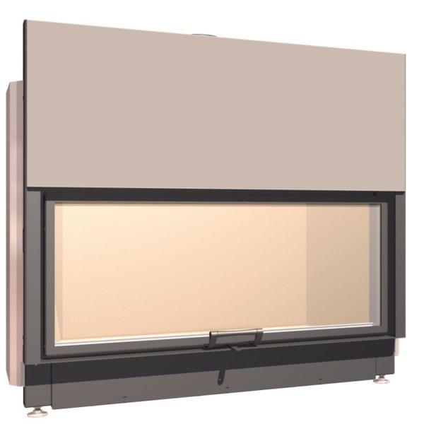 Топка с прямым стеклом Schmid Lina 120 h
