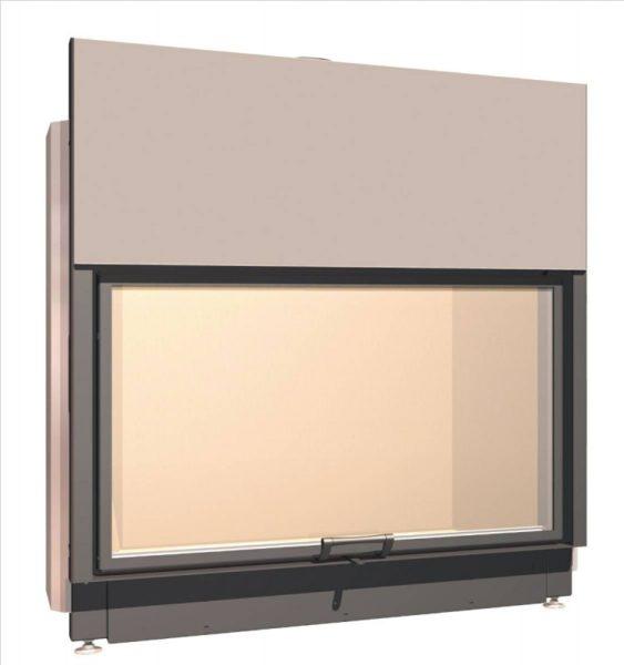 Топка с прямым стеклом Schmid Lina 12580 h