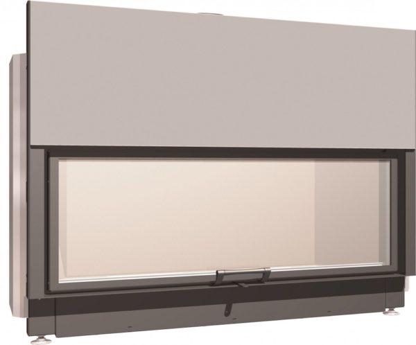 Топка с прямым стеклом Schmid Lina 155 51 h
