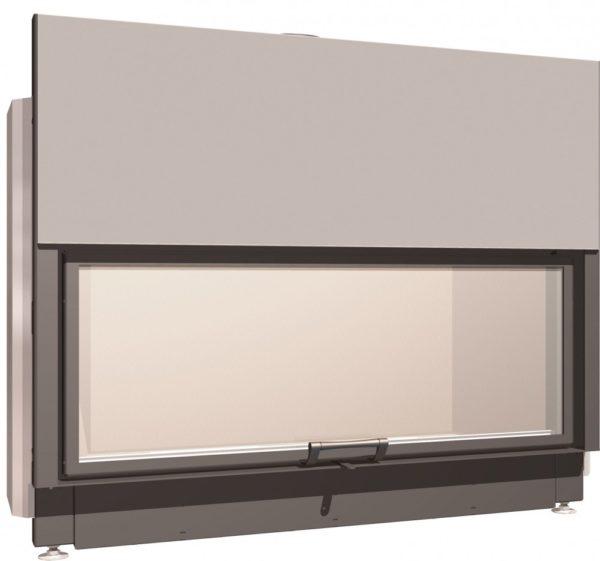 Топка с прямым стеклом Schmid Lina 170 57 h