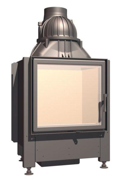 Топка с прямым стеклом Schmid Lina 55