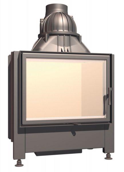 Топка с прямым стеклом Schmid Lina 67