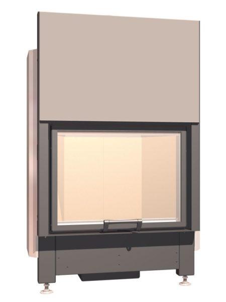 Топка с прямым стеклом Schmid Lina 67 h