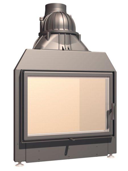 Топка с прямым стеклом Schmid Lina 73