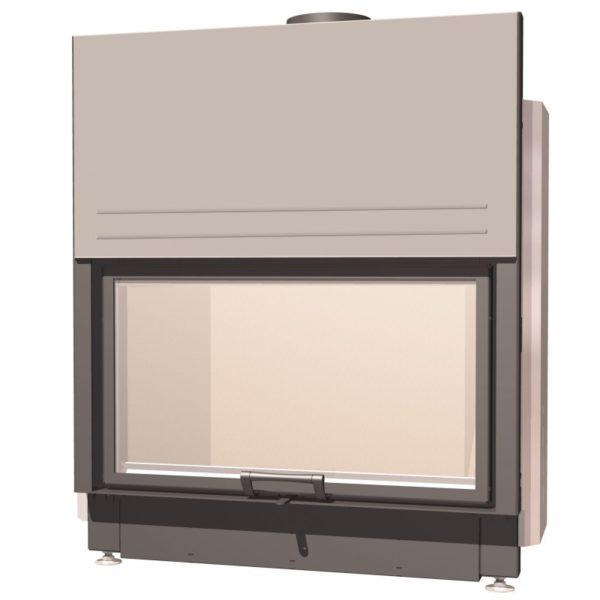 Топка с прямым стеклом Schmid Lina 87 h